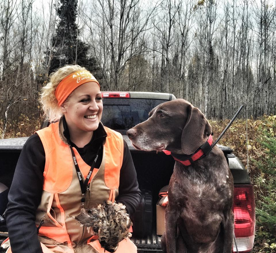 Brit and Wesson with woodcock