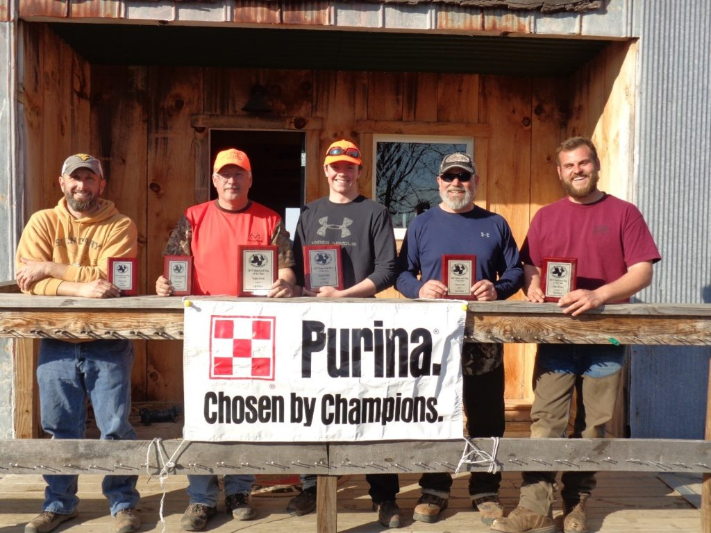 Team Group: Pictured from left to Right:3rd place: Robbie Minnick & Mark Minnick 1st place: Mark Minnick and Tyler Wallace 2nd Place: Joe Gerczak & Ryan Gerczak