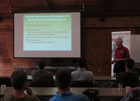 Gary Zimmer 2013 WI Presentation on Habitat Management Strategies for Ruffed Grouse and Woodcock