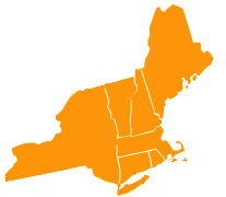 New England States Icon