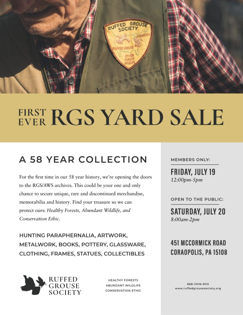 RGS Yard Sale Event 2019