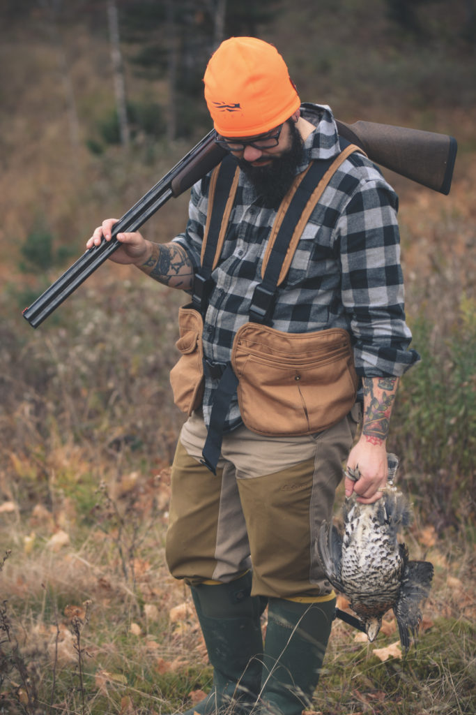 ruffed grouse hunting in New Hampshire